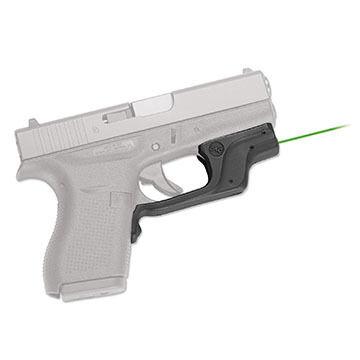 Crimson Trace LG-443GH BT Green Glock 43 Laserguard Laser Sight w/ Blade-Tech IWB Holster