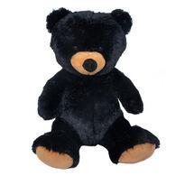 Wishpets Stuffed Sitting Black Bear