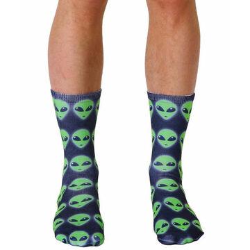 Living Royal Mens Alien Crew Sock