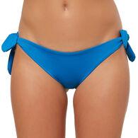 O'Neill Women's Salt Water Solids Side Tie Bikini Bottom