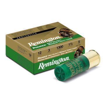 "Remington Premier High Velocity Magnum 12 GA 3"" 1-3/4 oz. #5 Shotshell Ammo (10)"