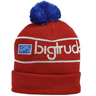 Bigtruck Men's Folder Pom Knit Hat