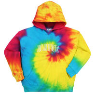 ESY Youth Maine Embroidered Tie Dye Hooded Sweatshirt