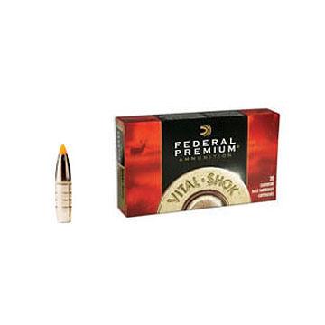 Federal Premium Vital-Shok 270 Winchester 130 Grain Trophy Bonded Tip Rifle Ammo (20)