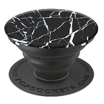 PopSockets Black Marble Mobile Device Expanding Stand & Grip