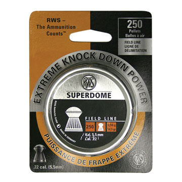 RWS Superdome Field Line 22 Cal. Pellet (250) - Discontinued Model