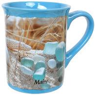 Cape Shore Beach Walk Sea Glass Bay Mug