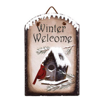 Timeless By Design Winter Welcome Slate