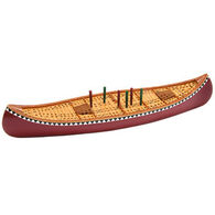 Outside Inside Canoe Cribbage Board