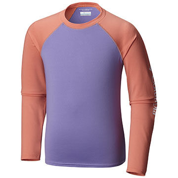Columbia Boys & Girls Mini Breaker Long-Sleeve Sunguard Top