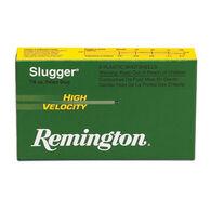 "Remington Slugger High Velocity 12 GA 3"" 7/8 oz. Rifled Slug Ammo (5)"
