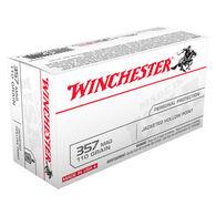 Winchester USA 357 Magnum 110 Grain JHP Handgun Ammo (50)