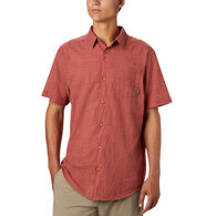 Columbia Men's Under Exposure Yarn-Dye Short-Sleeve Shirt