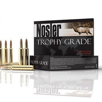 Nosler Trophy Grade 6.5-284 Norma 130 Grain AccuBond Rifle Ammo (20)