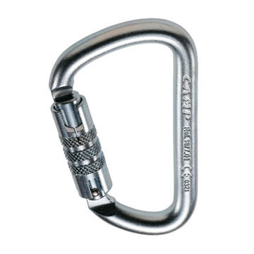 CAMP Steel D Twist Lock Carabiner