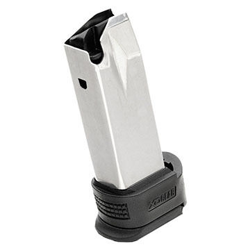 Springfield XD Sub-Compact 40 S&W 12-Round High Capacity Magazine w/ Black X-Tension
