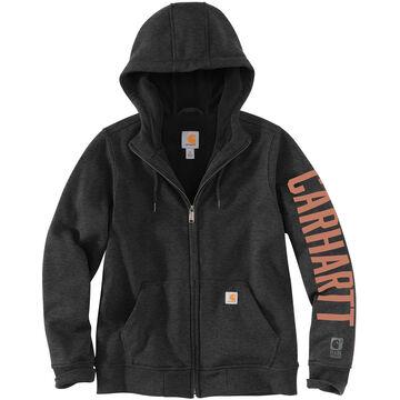 Carhartt Womens Rain Defender Original Fit Fleece-Lined Graphic Sweatshirt