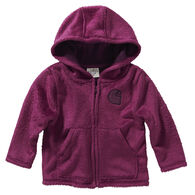Carhartt Toddler Girl's Cozy Fleece Hooded Jacket