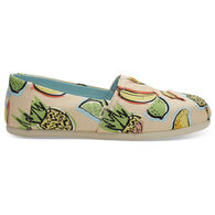 TOMS Women's Tropical Classics Slip-On Shoe