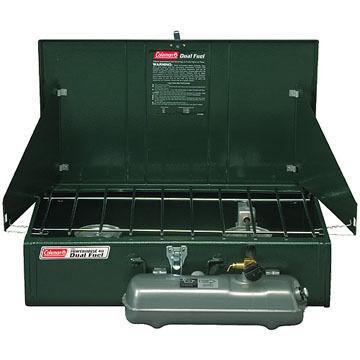 Coleman Dual Fuel Powerhouse 2-Burner Stove