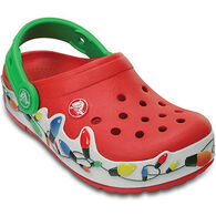 Crocs Boys' & Girls' CrocLights Holiday Clog