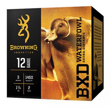 "Browning BXD Waterfowl Extra Distance 12 GA 3"" 1-1/4 oz. #4 Shotshell Ammo (25)"