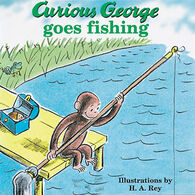 Curious George Goes Fishing By H. A. Rey & Margret Rey