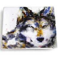 Big Sky Carvers Wolf Snack Plate