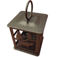 Sherwood Products Moose Candle Lantern