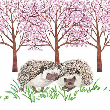 Paperproducts Design Hyde Park Hedgehogs Beverage Napkin