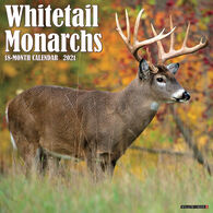 Willow Creek Press Whitetail Monarchs 2021 Wall Calendar