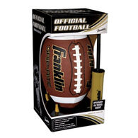 Franklin Sports Official Size Grip-Rite Football Pump & Tee Set