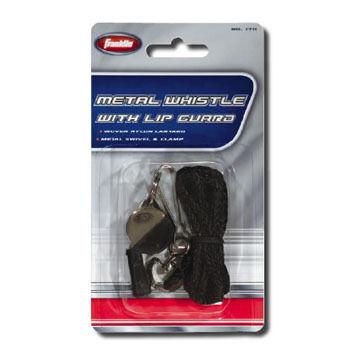 Franklin Sports Metal Whistle & Lanyard