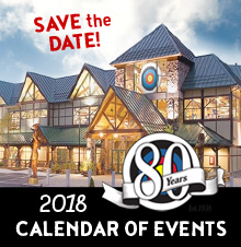 Calendar of Events 2018
