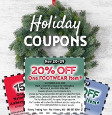 Holiday Coupon Codes! Up to 20% Off!