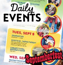 Septemberfest Event Schedule 2017