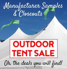 Outdoor Tent Sale
