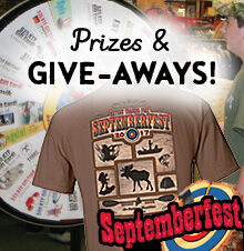 Septemberfest Free Prizes & Giveaways!