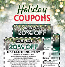 Coupon Sign-Up Offer!