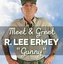 """Meet """"Gunny"""" R. Lee Ermey"""