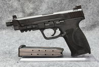 SMITH & WESSON M&P 45 THREADED PRE OWNED