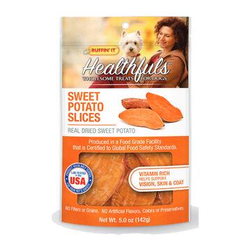 Ruffin It Healthfuls USA Sweet Potatoes Dog Treat - 4 oz.