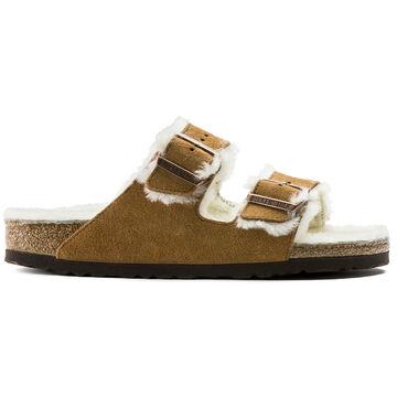 Birkenstock Womens Arizona Shearling Sandal