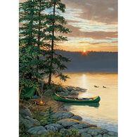 Outset Media Jigsaw Puzzle - Canoe Lake