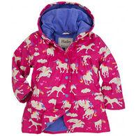 Hatley Toddler Girls' Unicorn Raincoat