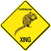 KC Creations Chipmunk XING Sign