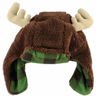Lazy One Toddler Boys' & Girls' Moose Critter Cap