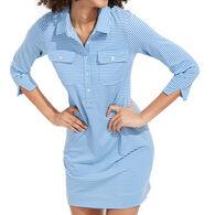 Vineyard Vines Women's Sankaty Striped Margo Shirt Dress