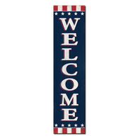 My Word! Welcome - Patriotic Stand-Out Tall Sign