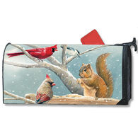 MailWraps Winter Snacktime Magnetic Mailbox Cover
